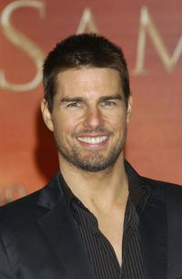 """Tom Cruise at the Spanish Premiere of """"The Last Samurai"""" in Spain."""