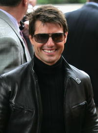 """Tom Cruise at the premiere of """"Mission: Impossible III"""" during the 5th Annual Tribeca Film Festival in New York City."""