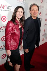 Billy Crystal and wife Janice Crystal at the AFIs 40th Anniversary celebration.