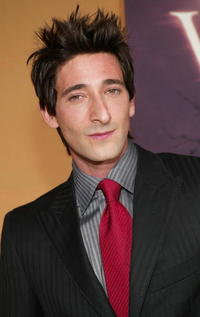 "Adrien Brody at the premiere of ""The Village""in New York City."