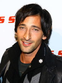 Adrien Brody at the Miss Sixty Fall 2007 fashion show in New York City.