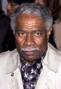 Ossie Davis at the premiere of