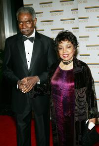 Ossie Davis and Ruby Dee at the 27th Annual Kennedy Center Honors.