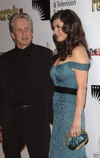 Michael Douglas and wife Catherine Zeta-Jones at the 2nd annual