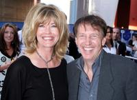 Sharon O'Conner and Dennis Dugan at the premiere of
