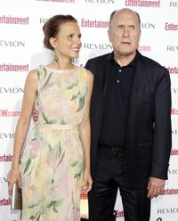 Robert Duvall and wife Luciana Pedraza at Entertainment Weekly's 5th Annual Pre-Emmy Party.