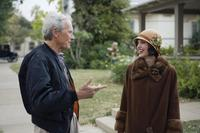 Director/Producer Clint Eastwood and Angelina Jolie on the set of
