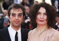 Atom Egoyan and Guest at the Palme d'Or Award Closing Ceremony.