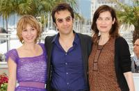 Dinara Droukarova, Atom Egoyan and Emmanuelle Devos at the photocall of