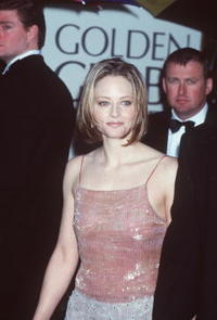 Jodie Foster at the 2000 Golden Globe Awards.