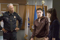 Morgan Freeman, Casey Affleck, and Michelle Monaghan in