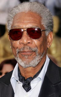 Actor Morgan Freeman at the 78th Annual Academy Awards in Hollywood.