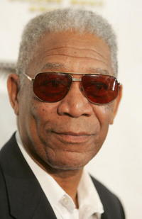 Actor Morgan Freeman at the Golden Boot Awards in Beverly Hills.
