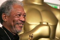 Actor Morgan Freeman at the 77th Annual Academy Awards in Hollywood.