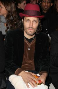 Vincent Gallo at the Mercedes-Benz Fashion Week Fall 2008.