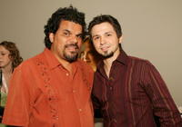 Luis Guzman and Freddy Rodriguez at the premiere of