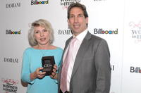 Deborah Harry and Antonio Pavan at the 3rd Annual Billboard Women in Music Breakfast.