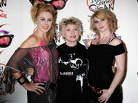 Kelly Price, Deborah Harry and Emma Williams at the launch of new musical
