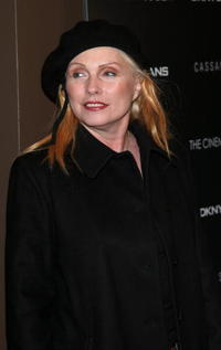Deborah Harry at the New York screening of