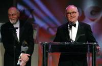 Buck Henry and Gil Cates at the 56th Annual DGA Awards at the Century Plaza Hotel.