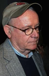 Buck Henry at the 101 Greatest Screenplays gala reception at the Writers Guild Theater.