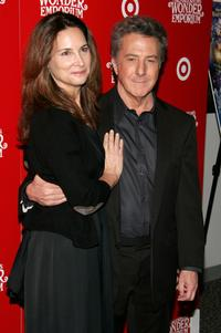 Dustin Hoffman and Lisa Hoffman at the New York premiere of