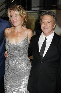 Dustin Hoffman and Emma Thompson The Times BFI 50th London Film Festival gala screening of