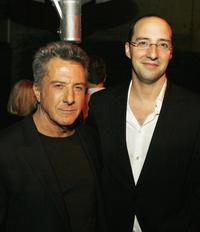 Dustin Hoffman and Tony Hale at the California premiere of