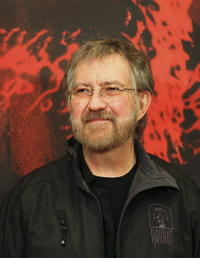 Tobe Hooper at the Tokyo photocall for