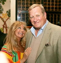 Goldie Hawn and Ken Howard at the after party of the premiere of