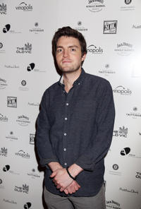 Tom Burke at the Old Vic's 24 Hour Musicals Celebrity Gala 2012 in London.