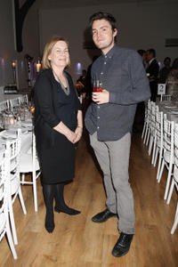 Vivienne Wallace and Tom Burke at the Old Vic's 24 Hour Musicals Celebrity Gala 2012 in London.
