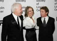 Diane Keaton, Steve Martin and Martin Short at the Film Society of Lincoln Center Annual Gala Tribute to honor actress Diane Keaton.
