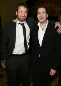 Gerard Butler and Richard LaGravenese at the after party of the premiere of