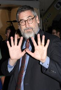 John Landis at the drive-in presentation of