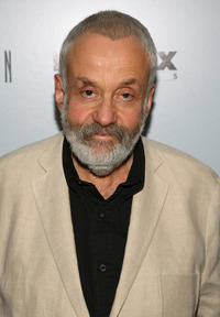 Mike Leigh at the Disney and Miramax Oscar Nominees Celebration.