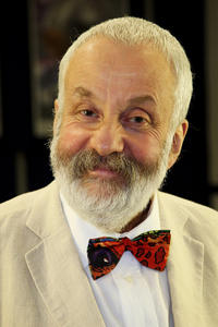 Mike Leigh at the UK premiere of