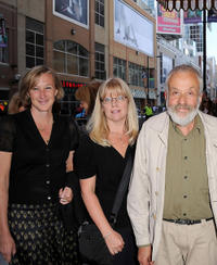 Mike Leigh and Guests at the premiere of