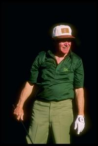 Jack Lemmon at the AT&T Pebble Beach Pro-Am in Monterrey.