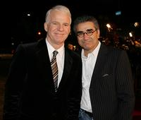 Eugene Levy and Steve Martin at the Los Angeles premiere of