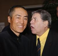 Jerry Lewis and Zhang Yimou at The 30th Annual Los Angeles Film Critics Association Awards.