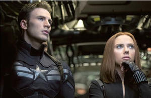 Check Out Cap's New Suit in New 'Captain America: The Winter Soldier' Pics