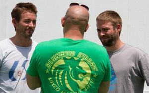 News Bites: Vin Diesel Posts a Pic with Paul Walker's Brothers, Plus Seth Rogen Teams with Kevin Hart and More