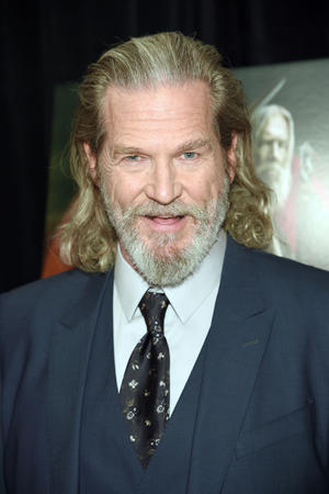 "Jeff Bridges at the New York special screening of ""Seventh Son."""