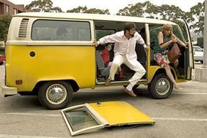 "Abigail Breslin, Steve Carell and Toni Collette in ""Little Miss Sunshine.''"