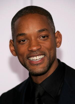 """""""The Pursuit of Happyness"""" star Will Smith at the Westwood premiere."""