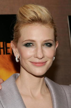 """""""Notes on a Scandal"""" star Cate Blanchett at the New York premiere."""