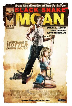 """Poster art for """"Black Snake Moan."""""""