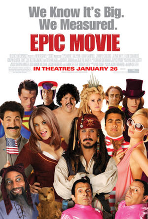 "Poster art for ""Epic Movie."""