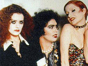 "A scene from the film ""The Rocky Horror Picture Show."""